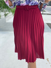 Load image into Gallery viewer, Pleated skirt 3