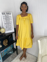 Load image into Gallery viewer, Yellow advent dress