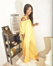 Load image into Gallery viewer, Modest yellow  jumpsuit - Modestapparels