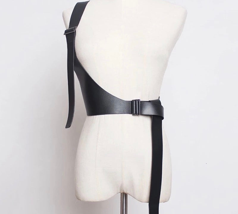 Black holster belt - Modestapparels