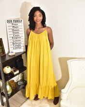 Load image into Gallery viewer, Yellow Sunny Dress - Modestapparels