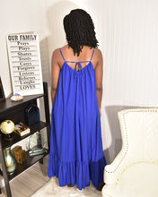 Load image into Gallery viewer, Royal Blue Sunny Dress - Modestapparels