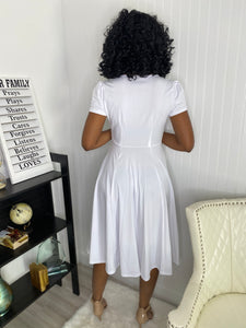 White dress - Modestapparels