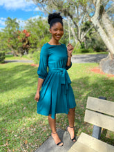 Load image into Gallery viewer, Sea green dress