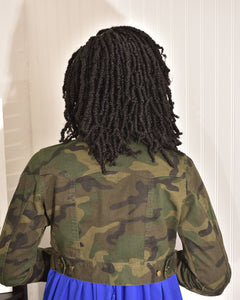 Army fatigue Jacket -high quality - Modestapparels