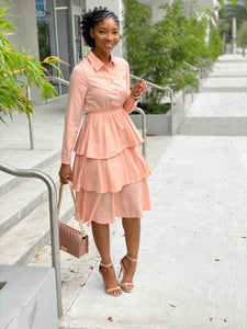 Plain Layer dress - Modestapparels