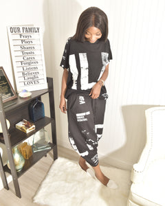 Street modesty two piece set - Modestapparels
