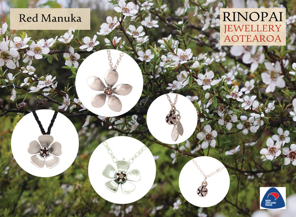 Jewellery NZ | Manuka Necklaces | Redmanuka
