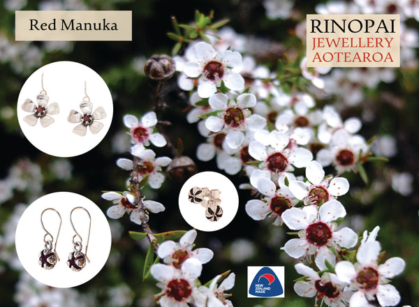 Redmanuka Earrings