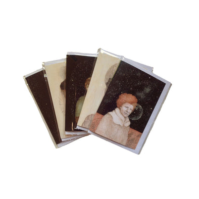 A  5 pack of Cards from the paintings of Frith Wilkinson.