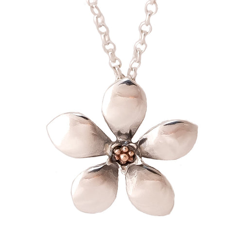 Jewellery NZ | Manuka Flower Necklace | Redmanuka