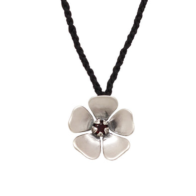 Red Manuka Large Flower Necklace | Jewellery nz | Redmanuka