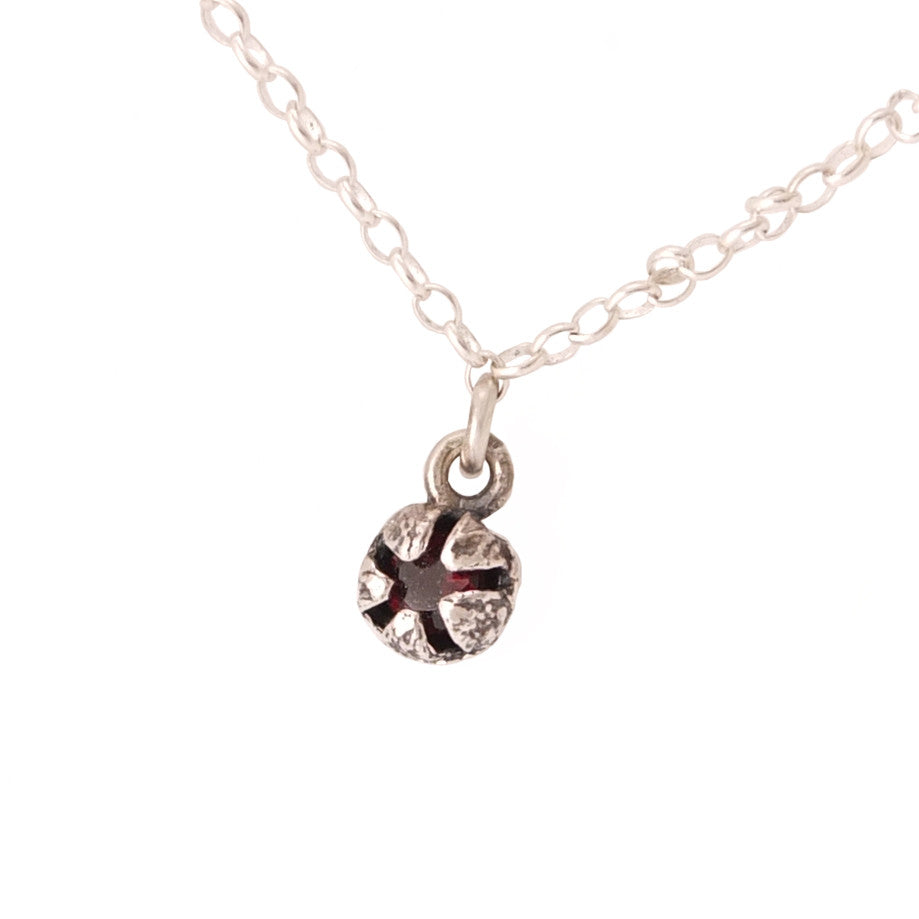 Red Mānuka Seed Pod Necklace -