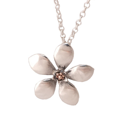 Manuka Flower Necklace | Jewellery nz | Redmanuka