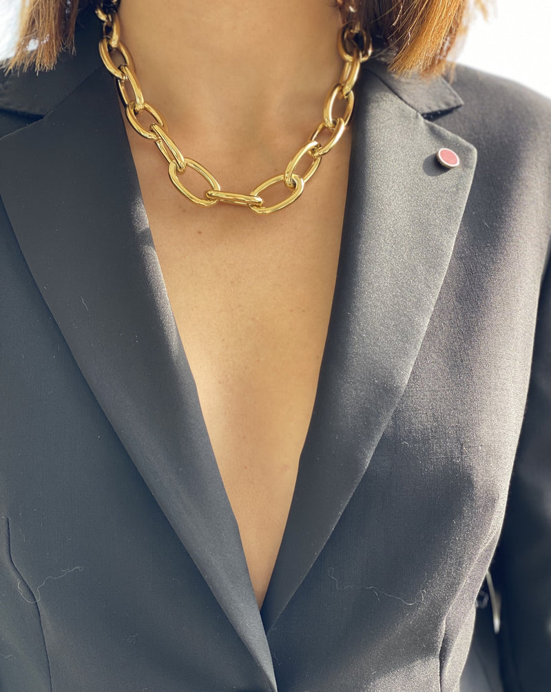 Collier Grosse Maille