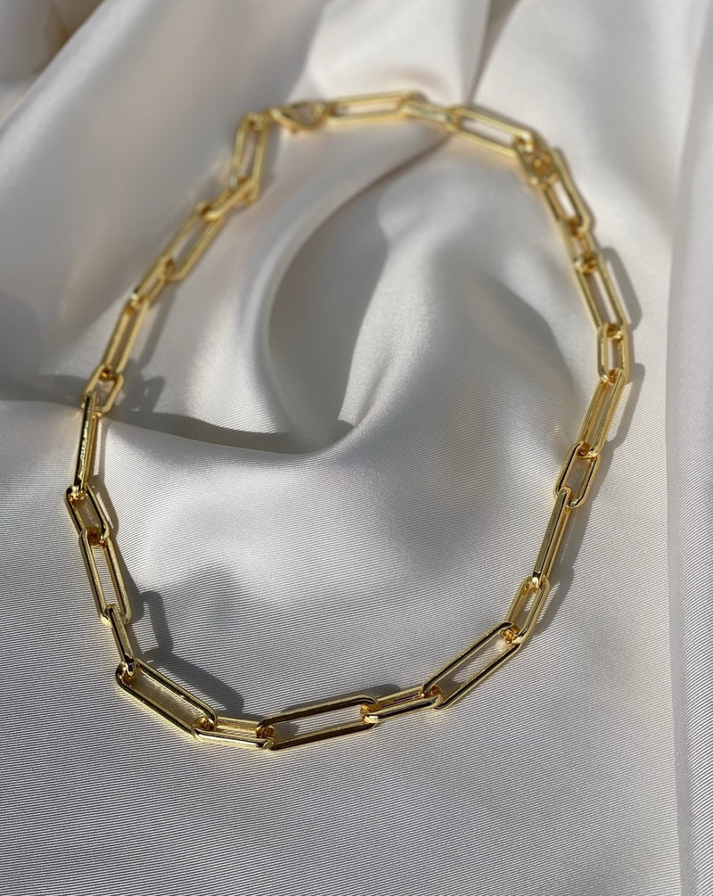 Collier Maille Rectangles