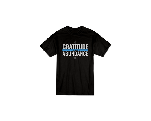 Josh Perry Gratitude is the key to Abundance T-shirt