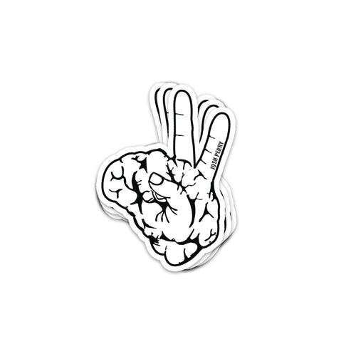 Josh Perry Peace Brain Sticker (COMES WITH ALL ORDERS)
