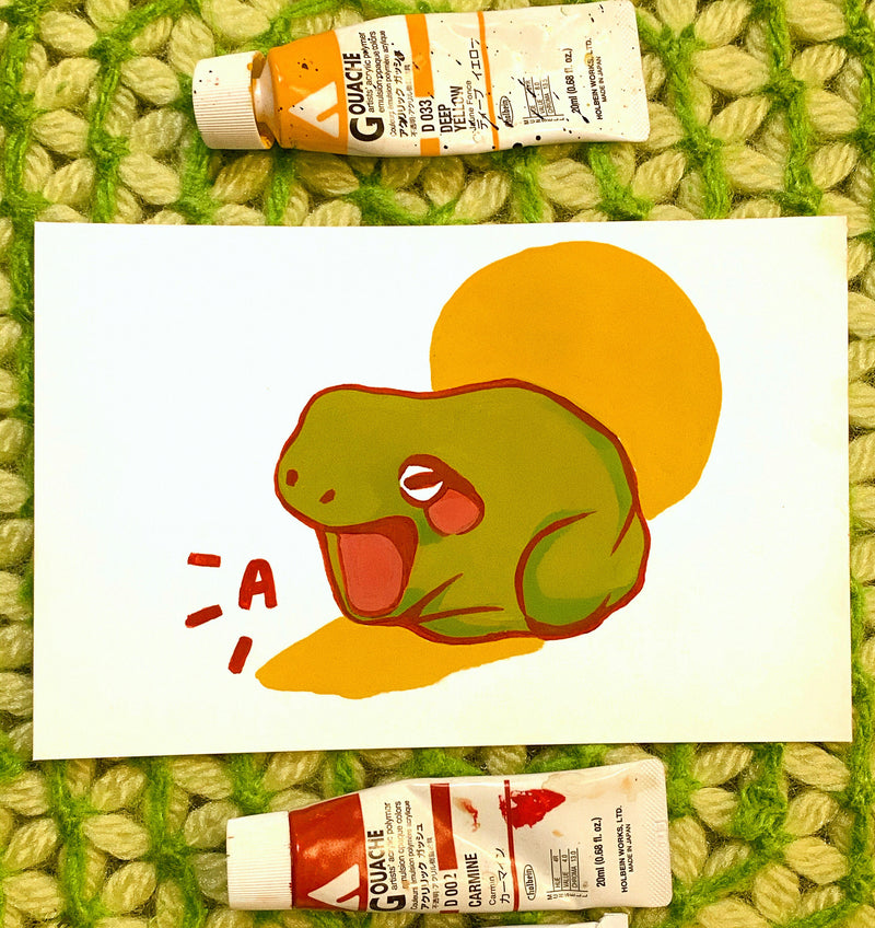 Toadvillage Teaches How to Use Gouache for Beginners