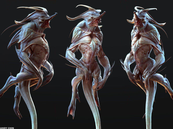 3D Art: Conceptualize Captivating Creature Designs with Andy Chin Digital Art Andy Chin