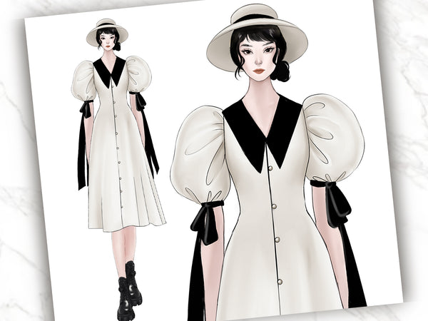 Project Class101way : Create Your Own Fashion Design Illustration with Gifaulia