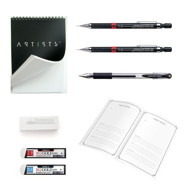 A Character Drawing Class: Create Your Own World with a Ballpoint Pen Illustration 약국 Class Access + All-in-one Package