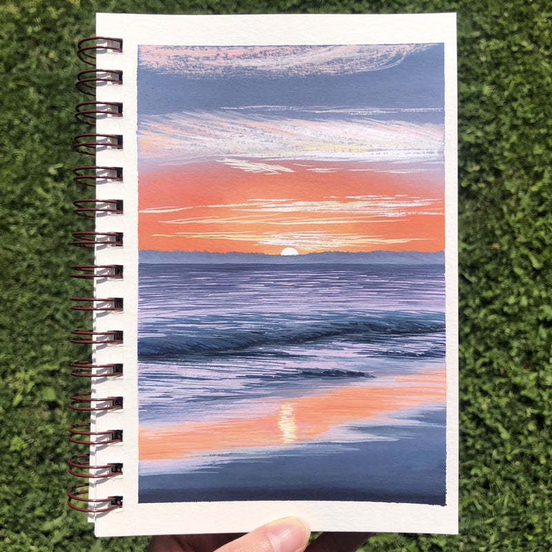 Bring Landscapes to Life with Gouache: How to Paint Beautiful Scenery Illustration Jess Chung