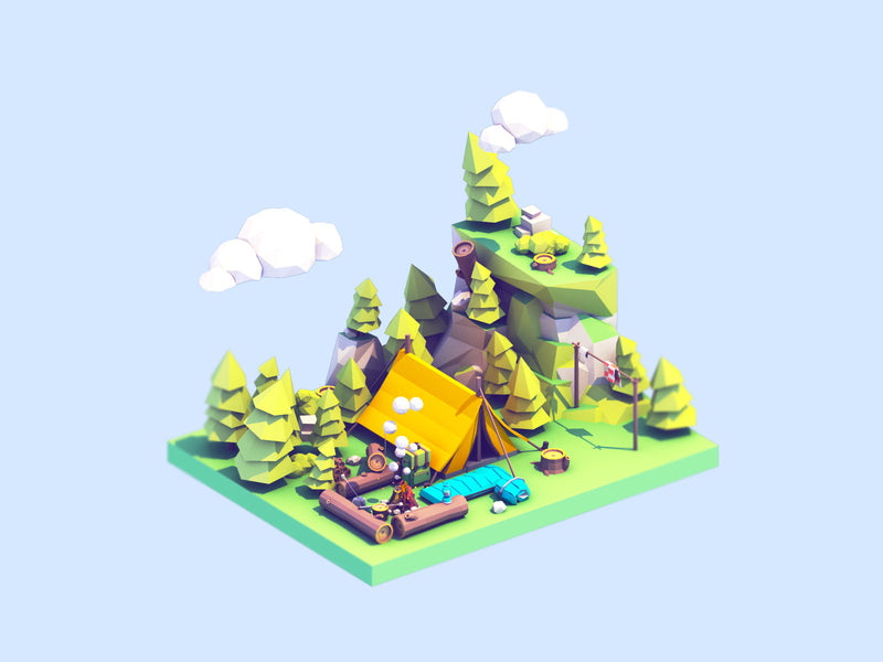 Create Lively and Playful Isometric Animations
