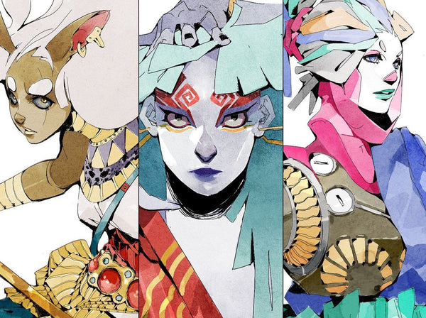 Combining Creature and Human Features to Create Innovative Characters Digital Drawing Boell Oyino