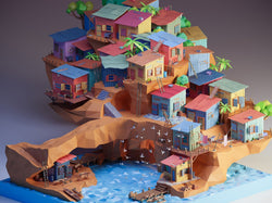 Create Detailed and Colorful Low Poly Isometric Art Digital Art Angelo Fernandes