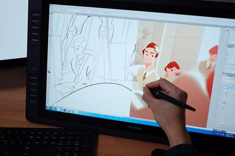 Create Pixar-Inspired Movie Scene Illustrations on Your Tablet Digital Drawing 임동현