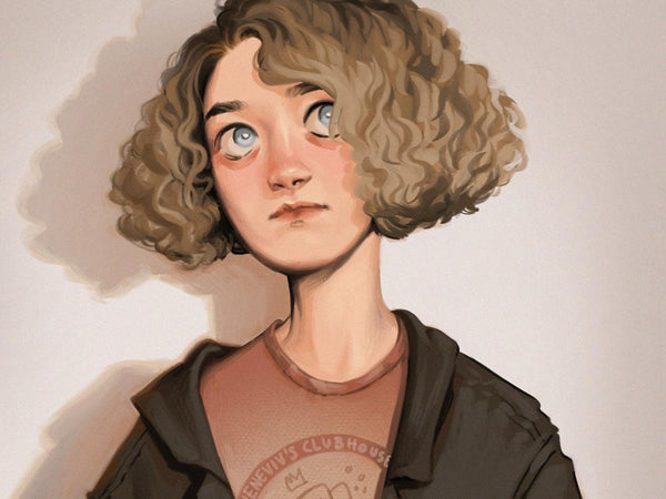 Create Semi-Realistic Characters on Procreate with Cheneviv Digital Drawing Cheneviv