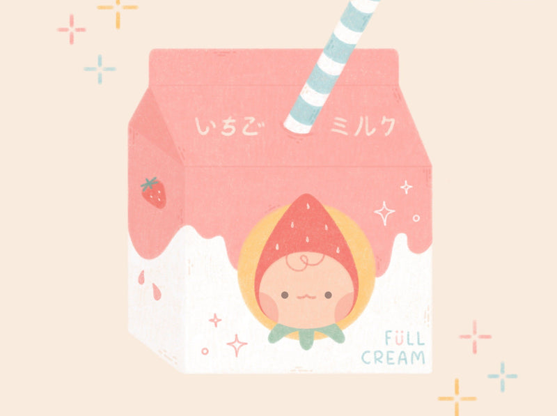 Create Your Own Minimal Technique and Maximal Cuteness Art Illustration Gingy