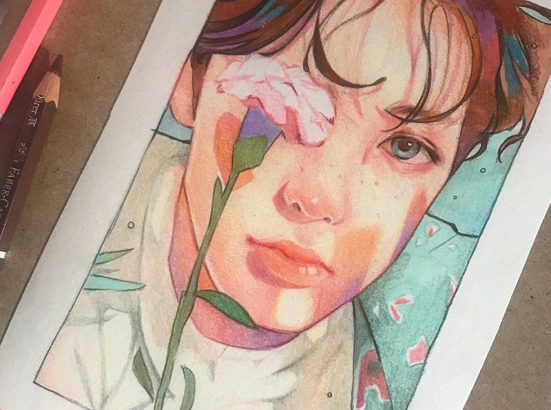 Creating Beautiful and Colorful Fan-Art Portraits Illustration Class101