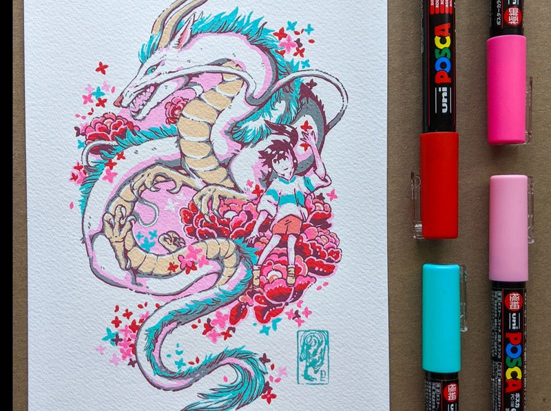 Creating Imaginary Creatures with Posca Pens Illustration Thingsbydiana