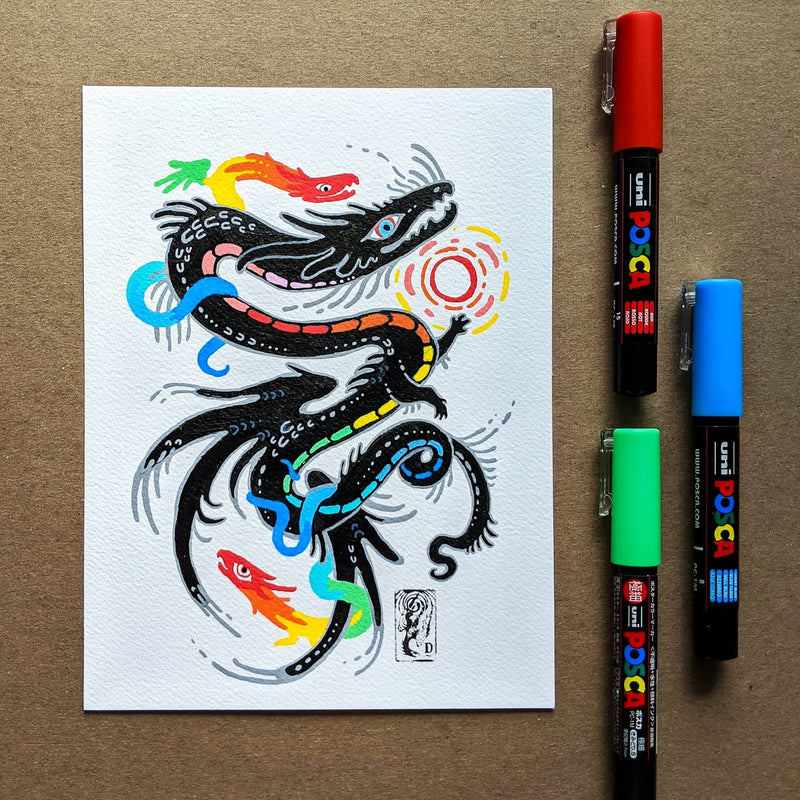 Creating Imaginary Creatures With Posca Pens Class101