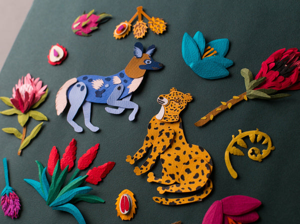 Cut and Layer Paper to Create Beautiful Illustrations Crafts Matilda Paperart