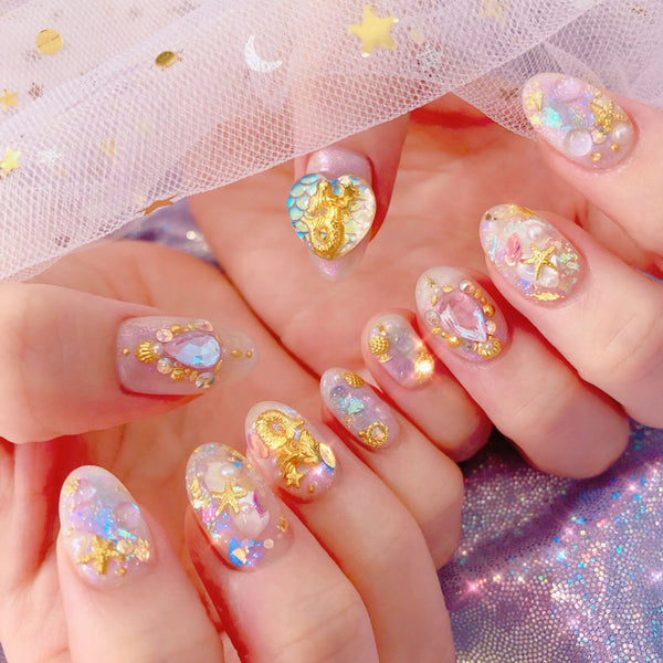 Design Beautiful and Elegant Nail Art: An Online Self-Nail Class Nailart 편블리