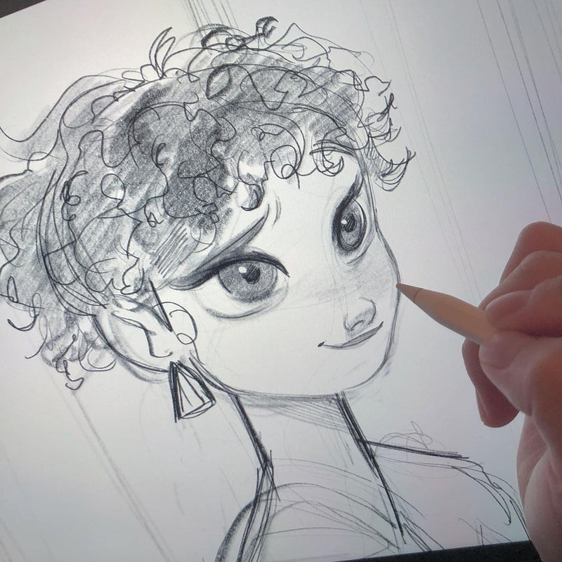 Dive into the World of Animation with Disney-Inspired iPad Drawing Course Digital Drawing Eunbi