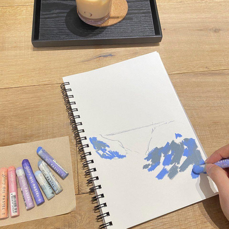 Draw like Monet: Online Oil Pastel Travel Drawing Class Illustration 아일렛솔