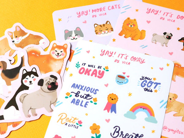 Draw, Print, Cut: Making Custom Stickers with Procreate and Cricut Illustration Yayitsvica