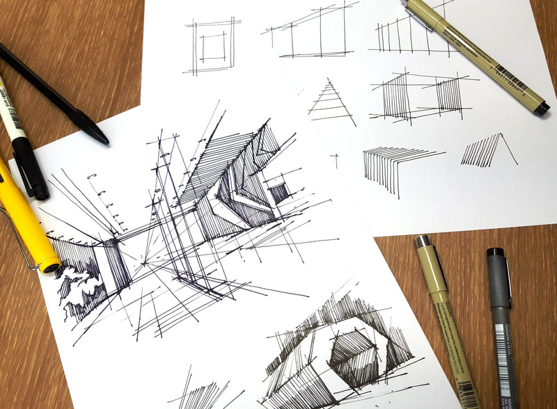 Draw Urban Sketches Like An Architect Illustration 스케치포럼