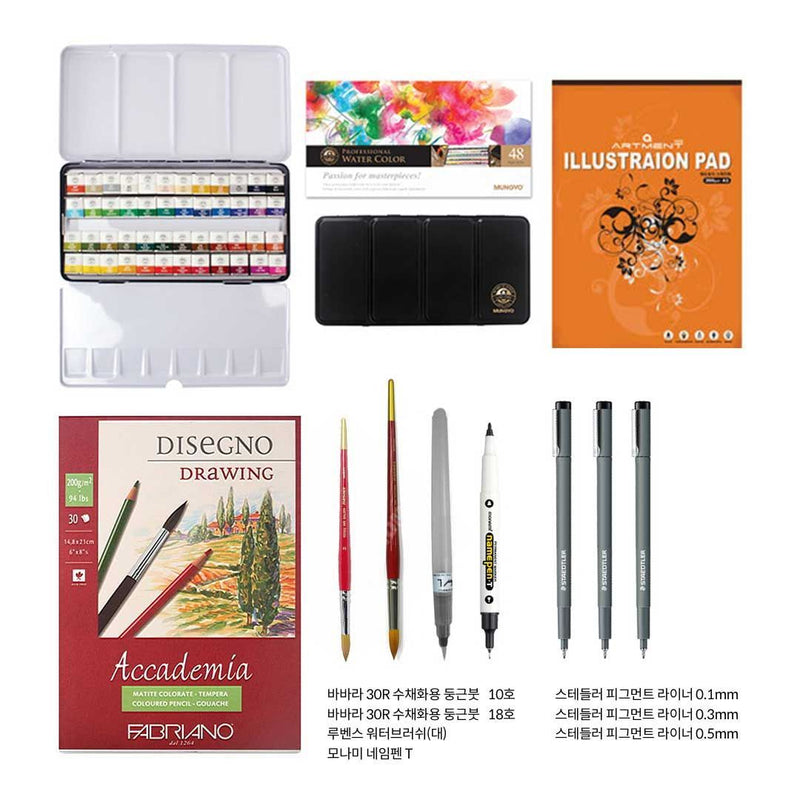 Draw Urban Sketches Like An Architect Illustration 스케치포럼 Class Access + All-in-one Package