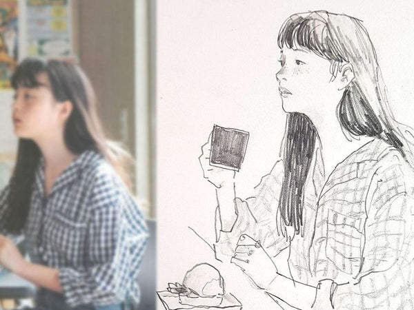 Drawing the People You Love: An Online Croquis Class Illustration 조맹