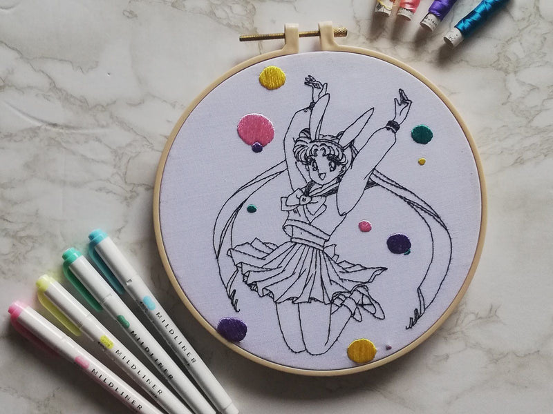 Embroider your Favorite Anime Characters Life Style Metanoien Atelier