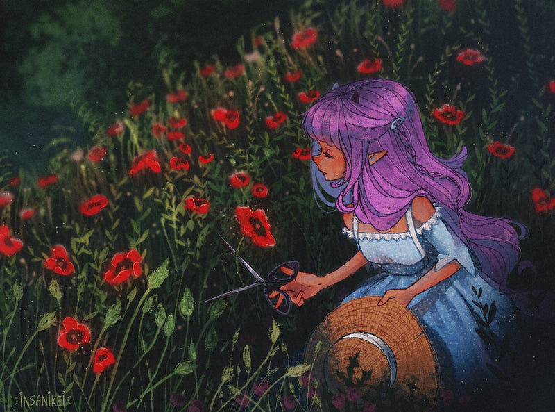 Fairytale Dream Universe: Design and Illustrate Your Own Character Digital Drawing Insanikei