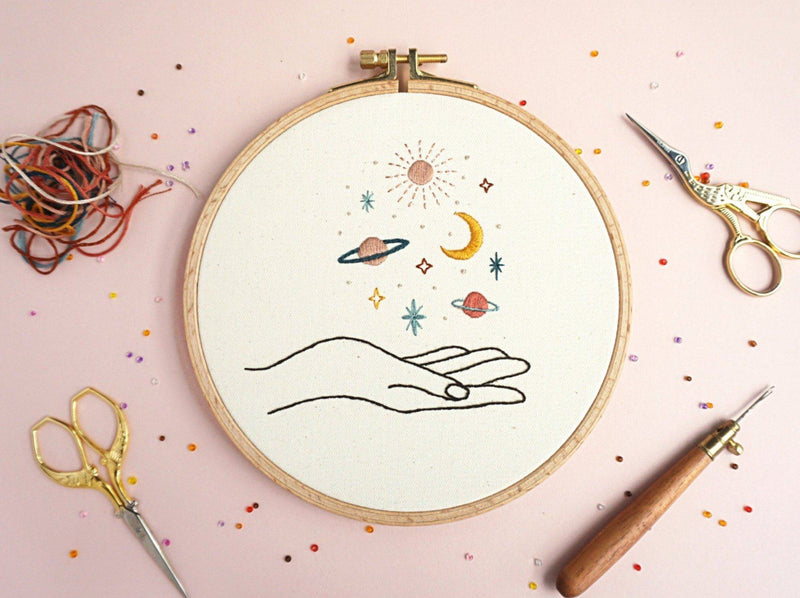 Fun and Modern Embroidery Illustrations Crafts Miriam Polak