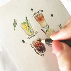 Illustrate Your Favorite Food in Miniature with Colored Pencils Illustration 소보루