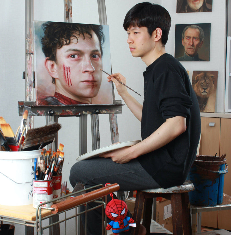Learn How To Create Acrylic Portraits That Surpass Reality Illustration 정중원
