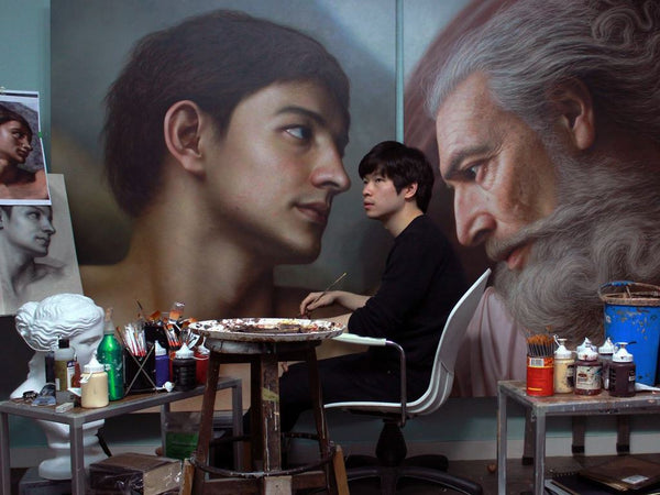 Learn How To Create Acrylic Portraits That Surpass Reality Illustration 정중원 Class Access Only